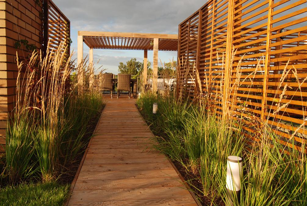Ogród na dachu – Bemowo