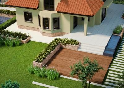 Ogród przy domu – Płońsk